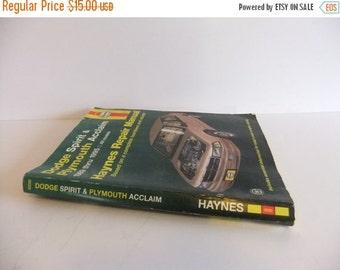 ON SALE Dodge Spirit and Plymouth Acclaim 1989 thru 1995  Haynes Repair manual