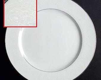 Southwicke 4 White  Dinner Plates   bridal showers, bulk  wedding china , on sale