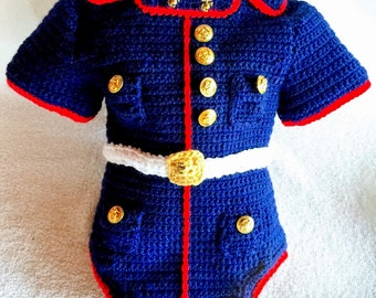 Marine Corps Bodysuit - Marine Corps - usmc Marine - Marine Corps Baby - Marine Corps Baby Body Suit - Marine Baby - Hobbyist License 21512
