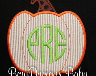 Boys Fall Shirt, Plaid Pumpkin Shirt, Halloween Shirt, Monogrammed Pumpkin Shirt or Bodysuit, Pumpkin Patch Shirt, Custom Thanksgiving Shirt
