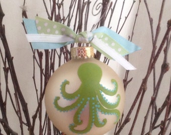 Octopus (green and blue)