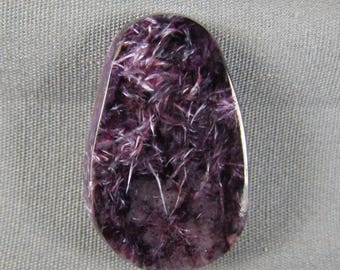 Charoite cabochon Purple designer handmade rock beauty