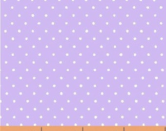 Windham - Basics/Pastels - Light Purple w/ White Dots - Fabric by the Yard 29400-11