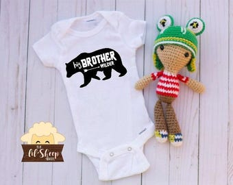 Baby Onesie/Bodysuit/ Baby gift/ Baby shower/Infant/Baby Clothing /Brother Bear/ Coming Home Outfit