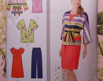 Casual Wardrobe Sewing Pattern UNCUT Simplicity 1620 Sizes 20-28 Plus Size