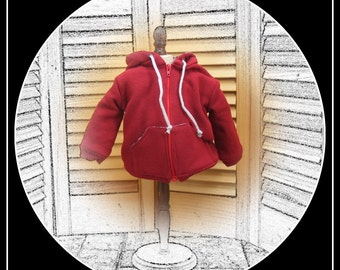 Winter Coat for BOY doll (or girl!) 18 inch dolls - American Girl, Magic Attic, Our Generation, etc