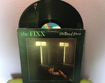 Vinyl Record Album The Fixx - Shuttered Room LP 1980 UK Pop Synth Rock Red Skies