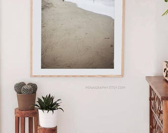 "Ocean Beach San Francisco // Large Beach Photography // Ocean Photography // Living Room Art // Beige Natural Color // ""Ocean Beach SF"""