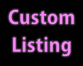 Custom listing for paige02022000