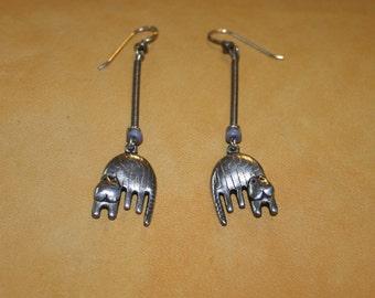 Rare Laurel Burch Cat Earrings plus Free USA Shipping!