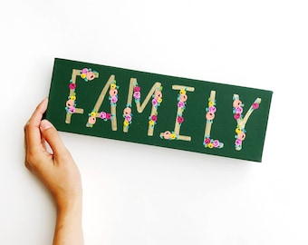 SALE  // Family | canvas