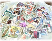 100 Vintage Postage Stamps