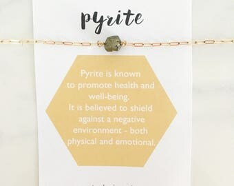 Pyrite - Healing Crystal Necklace