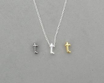 Initial t Necklaces