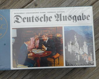 Vintage German Scrabble Game 1968 Factory Sealed