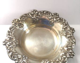 Beautiful Anston Sterling Bowl