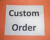Custom Order 2 sponge holders for Meg