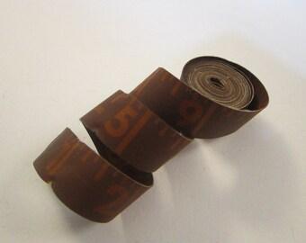 vintage tape measure - 60 inch, BROWN tape measure