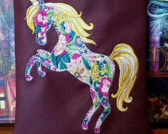 New Beautiful Unicorn flowered kindle tablet case