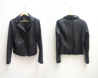 Italian Leather Jacket.