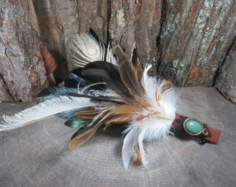 Smudge Fan, Smudging Feather Fan For Banishing Negative Energy, Feather Fan, Smudging Fan, Purification,Witchcraft, Wiccan, Pagan,Witch