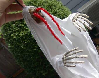 Wormeye Ghost - Original Hanging Halloween Decoration