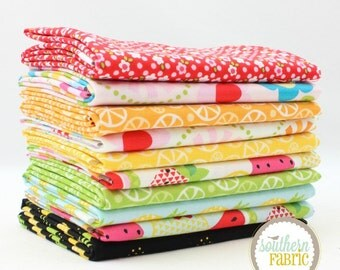 "Fresh Market - Fat Quarter  Bundle - 10 - 18""x21"" Cuts - for Riley Blake Quilt Fabric"