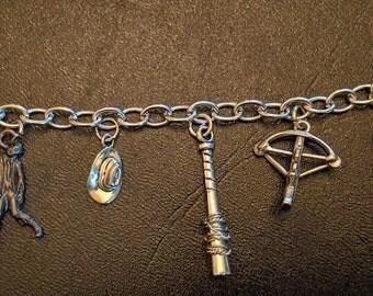 Walking Dead Themed Charm Bracelet