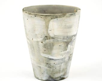 Cup with White Surface Pattern