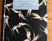 Thirties Floral Fabric Victoria and albert Colour books 1988