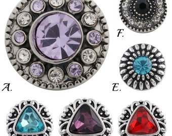 Mini snap charms for Petite Ginger Snaps plus other 12 mm snap jewelry.