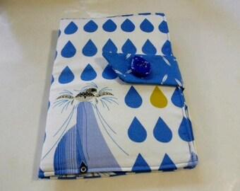 Charley Harper Dolphin Mini iPad/Nook Color Cover Organic Cotton