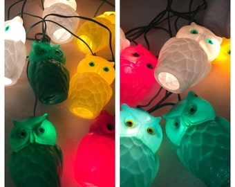 OWLS and more OWLS! HOOT Hoot! Mid Century R V Trailer FuN Owls, 1 Set Remaining, Mid Century Modern, Vintage Lights at Modern Logic