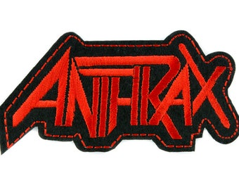 Anthrax Patch Iron on Applique Alternative Clothing Heavy Metal Music - YDS-PA-2433-PATCH