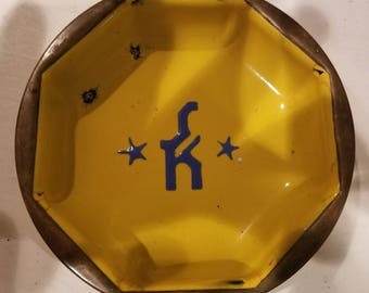 Schutte & Koerting 50 year Advertising Ashtray Enamel