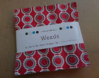 Weeds Charm Pack