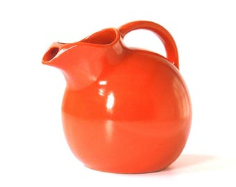 Vintage Ball Pitcher Orange