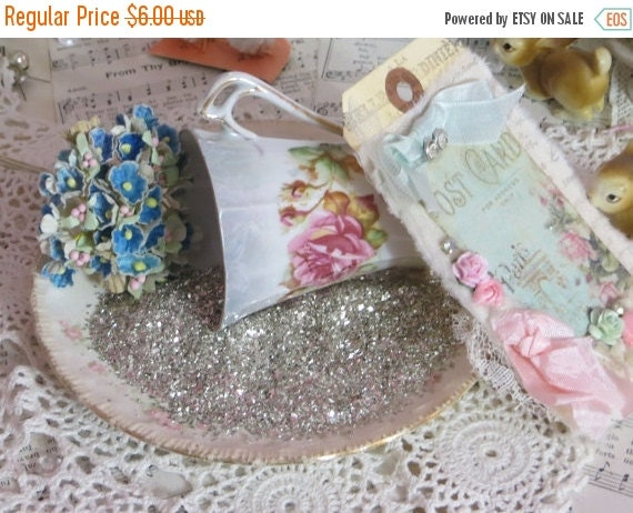 ON SALE Glass Glitter-REAL Glass-Corse Grit-Silver Sparkle