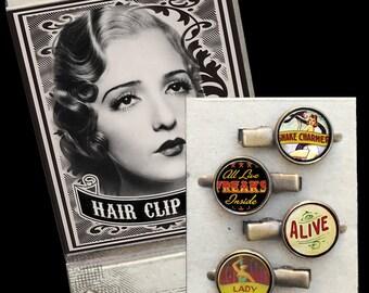 Freakshow Matchbox Hair Clip set