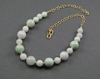 Gorgeous Burma Jadeite Necklace - N884