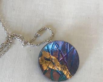 Keum Boo Circle Necklace