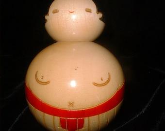 Old Kokeshi Doll SUMO WRESTLER Japan