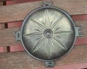 Vintage Cool Nautical Penco Compass Ashtray