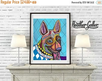 50% Off Today- Thai Ridgeback art Poster of Painting  Print Heather Galler (HG868)