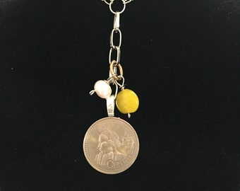 Coin Necklace - Guatemala