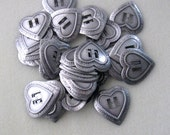 Heart Concho,  Gunmetal Concho, Western Wear, Supply Findings, Jewelry Supply, Craft Supply, Bolo Tie, Jewelry Making Concho, (1)