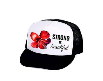 STRONG is Beautiful-Trucker Hat