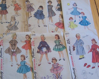 seven charming and adorable vintage patterns