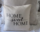 Home Sweet Home Pillow Cover