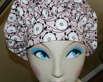 Calypso Spring Banded Bouffant Surgical Cap by Nurseheadwear